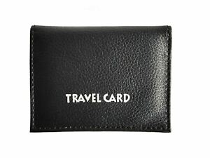 Lorenz PU Leather Bus Pass Oyster Travel Card Bus Pass ID Holder Wallet Case