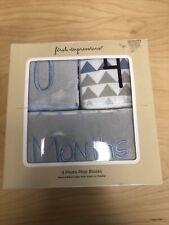 First Impressions 3 Photo Prop Blocks blue Nib