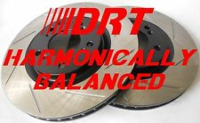 Fits Infiniti G37X G37 Sedan Harmonically Balanced Brake Rotors Rear