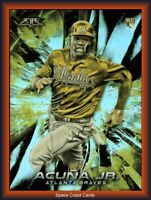 Ronald Acuna Jr 2018 Topps Fire GOLD MINTED ROOKIE RC #109 Atlanta Braves