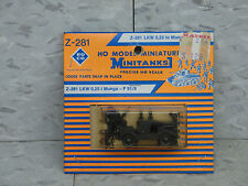 Roco / Herpa Minitanks  (NEW) Modern NATO 1/4 T Munga F91 Jeep Lot #385