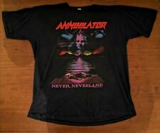 1990 Annihilator Alice in hell Vintage shirt heavy metal 90s thrash rare merch