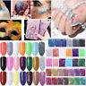 5/10/20g BORN PRETTY Nail Powder Holographic Nagel Kunst Puder Glitter Pigment
