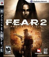 F.E.A.R 2 Project Origin Ps3 Fear - LN - Game Disc Only