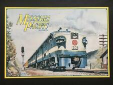 1992 Missouri Pacific Lines 309 Diesel Engine Tin Decorative Sign