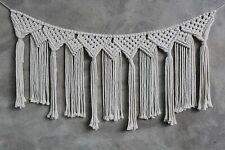 Tassle Macrame Woven Wall Hanging Tapestry Bohemian Boho Chic Home Art Decor