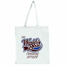 the Worlds meilleur entraînement Officier - Grand Sac Shopping Fourre-tout