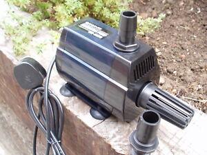 4400 LTR INLINE/IMMERSIBLE WATER PUMP FOR KOI,FISH,POND HAILEA HX-6830 POND PUMP