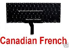 Apple MacBook Air A1370 A1465 Keyboard  - CF - Canadian French