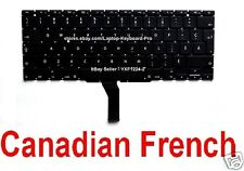 Apple MacBook Air A1370 A1465 Keyboard  - CF - Canadian French