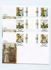 Aland FDC #188-90 Scarce Gutter Pair Windmills 2001 3 Covers AL2