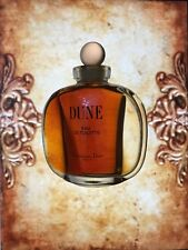 Christian Dior Dune   VINTAGE year 1993 SPLASH   Edt 30 ml left women perfume