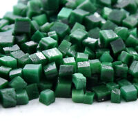 Natural Colombian Green Emerald Gemstone Small Rough Mineral Cubes Loose Lot