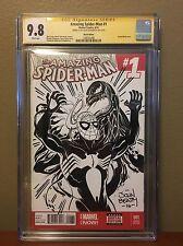 John Beatty Sketch Commission CGC 9.8 SS Symbiot! Sketch Cover Original Art