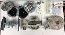 Wow! Lot of Star Wars Playset including 1995 Millenium Falcon! See all pictures!