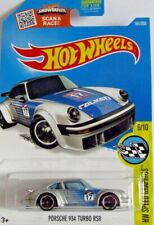Hot Wheels Porsche 934 Turbo RSR - Silver & Blue Falken Tire