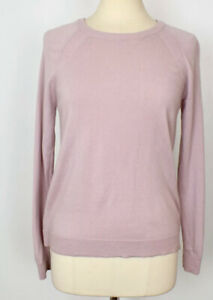 LULULEMON Tied To You Pullover Sweater - Pale Pink Merino Wool Tie Sweater Sz 6