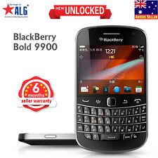 New BlackBerry Bold 9900 Unlocked Qwerty Phone Black Free Power Bank Car Charger