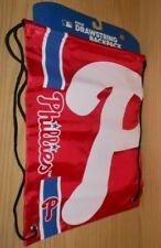 NEW Sports Crate MLB PHILADELPHIA PHILLIES Cinch Sack Bag Drawstring Backpack