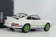 Porsche 911 2.7 Carrera RS Touring 1973 weiß grüne Schrift 1:18 Norev 187636