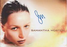 SAMANTHA MORTON Signed 12x8 Photo MAX AND RUBY & THE LIBERTINE COA