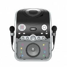 NAXA KARAOKE PARTY SYSTEM Machine*with BLUETOOTH*CD+G Player*LED LIGHTS&TWO MICS