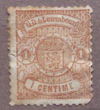 1859 Luxembourg 1 centime MH Sc4 rare CV$140