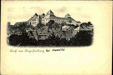 Augustusburg bei Chemnitz AK ~1900 Burg Schloss Jagdschloss Festung Panorama