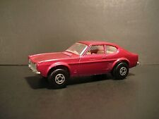 Matchbox Superfast No.54 Ford Capri 1970 Lesney Products Vintage Diecast