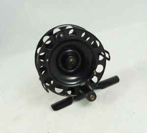 Old Vintage SHAKESPEARE WINNER Fly Reel - Very Small Size - Black Finish
