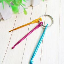 Lot 3pcs Mixed Crochet Hook Knitting Knit Needle Weave Yarn Home Mini Tool 3Size