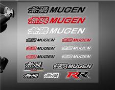 Car Sticker Emblem For Honda MUGEN Set Sticker Racing Sport Logo  Badge