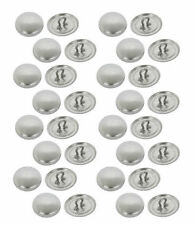 50 Buttons 19mm Self Covered SHANK Back  DIY Win tool For Sewing / Hairties etc