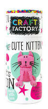 Craft Factory Cute Kitten: Make and Personalize Your New Friend! by Parragon Books Ltd (Mixed media product, 2015)