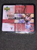 1999 Upper Deck NBA Tribute Michael Jordan Factory Sealed Lunch Box 30 Card Set