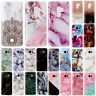 For Samsung Galaxy S9 S8 S7 J7 J5 Ultra Slim Marble Pattern Soft TPU Case Cover