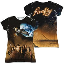 "Firefly ""Cast"" Dye Sublimation Girl's Junior Babydoll Tee"