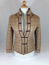 Bosideng Oriental Brown Quilted Winter Coat Jacket size 165/88A Xtra Small