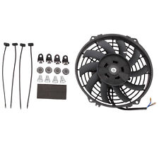 "Universal 9"" 12V 80W Car Electric Radiator Intercooler Cooling Fan Push Pull Kit"