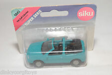 SIKU 0842 842 VW VOLKSWAGEN GOLF CABRIOLET CONVERTIBLE GREEN MINT BOXED .