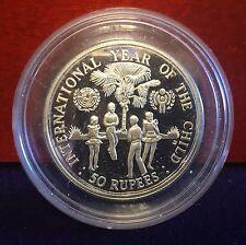 """Seychellen 50 Rupees 1980 """"Jahr des Kindes"""""""