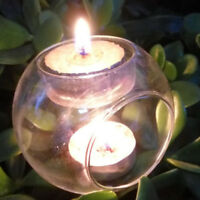 Wedding Christmas Party Glass Votive Candle Holders,Tealight Vases, 2-cup Holder