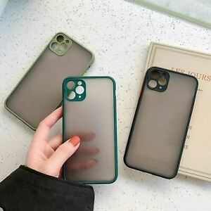 For Apple iPhone 11 Pro Max Clear Case Cover Thin Phone Tough Impact Silicone