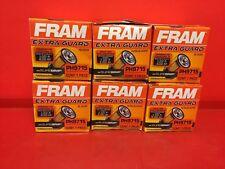 Lot of 6 Engine Oil Filter-ExtraGuard Fram PH9715 for Honda,Nissan,Toyota