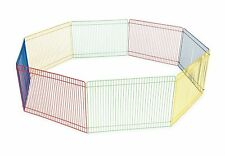 Portable Guinea Pig Rabbit /Hamster Garden Play Pen Fence Cage Folding Garden