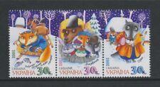 Ukraine - 2001, Folk Tales set - MNH - SG 382/4