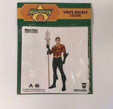 DC Comics Aquaman & Black Manta Decals 3 Pack DC Worlds Finest The Collection Ex