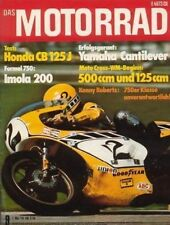 M7609 + Test HONDA CB 125 J + Optimierungen SUZUKI GT 550 + DAS MOTORRAD 9/1976