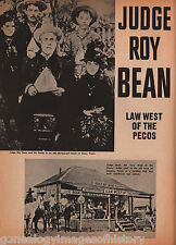 Pony Express Rider, Judge Roy Bean+Adams, Bean*, Butterfield, Chaves*