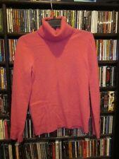 J. Crew Deliziosa Fuchsia Pink Cashmere Turtleneck Sweater M  (65)